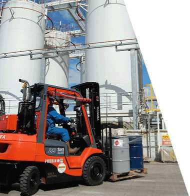 Atex Forklift   Patlama Tehlikesi Olan İş Sahalarına Özel Üretim